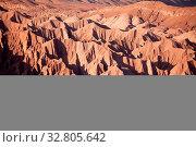 Купить «Valle de la Muerte in der Atacama Wüste in Chile», фото № 32805642, снято 29 мая 2020 г. (c) easy Fotostock / Фотобанк Лори