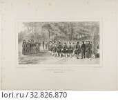 Wallachian Round, Performed by the Tsiganes and Danced by the Second Regiment Musicians at the Home of Prince Ghika, Ghospodar, Wallachia, 1839, Denis... Редакционное фото, фотограф ARTOKOLORO QUINT LOX LIMITED / age Fotostock / Фотобанк Лори