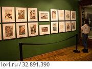 Выставка в Государственном музее Востока. Москва (2020 год). Редакционное фото, фотограф Victoria Demidova / Фотобанк Лори