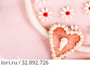 Купить «Cake in the form of a female beauticians in the children holiday or birthday», фото № 32892726, снято 8 марта 2019 г. (c) Евгений Ткачёв / Фотобанк Лори