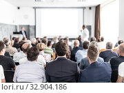 Купить «I have a question. Group of business people sitting in conference hall. Businessman raising his arm. Conference and Presentation. Business and Entrepreneurship», фото № 32904186, снято 30 сентября 2019 г. (c) Matej Kastelic / Фотобанк Лори