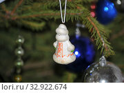 Советская новогодняя игрушка (2020 год). Редакционное фото, фотограф Татьяна Шикова / Фотобанк Лори