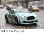 Купить «Bentley Continental GT», фото № 32923162, снято 8 марта 2015 г. (c) Art Konovalov / Фотобанк Лори