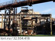 Купить «Old steel factory in area Dolni Vitkovice», фото № 32934418, снято 19 января 2020 г. (c) Яков Филимонов / Фотобанк Лори