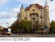 View on the streets of Szeged (2017 год). Редакционное фото, фотограф Яков Филимонов / Фотобанк Лори