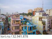 Купить «Облачное утров пятом районе. Хошимин (Сайгон), Вьетнам», фото № 32941878, снято 19 декабря 2015 г. (c) Виктор Карасев / Фотобанк Лори