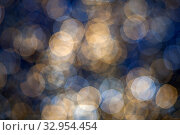 Купить «Bokeh lights effect on black background», фото № 32954454, снято 14 декабря 2019 г. (c) Юлия Кузнецова / Фотобанк Лори