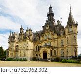 Купить «Montrejeau castle of Valmirande», фото № 32962302, снято 12 мая 2017 г. (c) Яков Филимонов / Фотобанк Лори