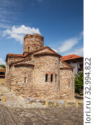 Купить «Church of John the Baptist (11th century) in Nessebar, Bulgaria», фото № 32994822, снято 26 июня 2019 г. (c) Юлия Бабкина / Фотобанк Лори