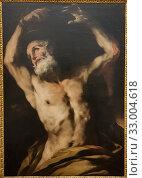 'Martyrdom of Saint Bartholomew ', Luca Giordano (1634-1705), oil on canvas. (2019 год). Редакционное фото, фотограф Ruddy Gold / age Fotostock / Фотобанк Лори