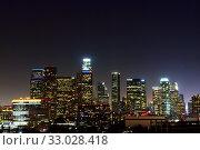 Купить «Night Los Angeles», фото № 33028418, снято 9 мая 2012 г. (c) Арестов Андрей Павлович / Фотобанк Лори