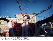 Купить «Москва, народные гулянья на Красной площади», эксклюзивное фото № 33050562, снято 8 февраля 2020 г. (c) Дмитрий Неумоин / Фотобанк Лори