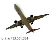 Купить «Passenger plane isolated», фото № 33051334, снято 17 февраля 2020 г. (c) Яков Филимонов / Фотобанк Лори