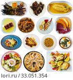 Купить «Collection of various Catalonian dishes», фото № 33051354, снято 21 февраля 2020 г. (c) Яков Филимонов / Фотобанк Лори