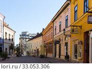 Picturesque Pecs streets (2017 год). Редакционное фото, фотограф Яков Филимонов / Фотобанк Лори