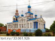 Купить «Church of the Nativity of the Holy Virgin», фото № 33061926, снято 26 июня 2019 г. (c) Владимир Арсентьев / Фотобанк Лори
