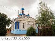 Купить «Church of the Nativity of the Holy Virgin», фото № 33062550, снято 26 июня 2019 г. (c) Владимир Арсентьев / Фотобанк Лори
