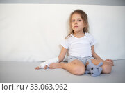 Купить «five year old girl», фото № 33063962, снято 29 января 2018 г. (c) Типляшина Евгения / Фотобанк Лори