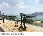 Купить «Statues at Avenue of Stars, Hong Kong», фото № 33068562, снято 25 сентября 2019 г. (c) Александр Подшивалов / Фотобанк Лори