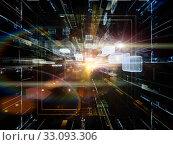 Купить «Paradigm of Virtual Space», фото № 33093306, снято 6 июля 2020 г. (c) PantherMedia / Фотобанк Лори