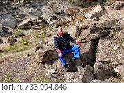 Купить «yankee soldier in a quarry», фото № 33094846, снято 4 апреля 2020 г. (c) PantherMedia / Фотобанк Лори