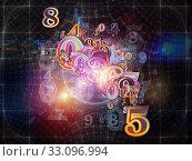 Купить «Number And Beyond», фото № 33096994, снято 26 февраля 2020 г. (c) PantherMedia / Фотобанк Лори