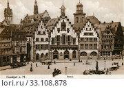 Купить «Рёмер (нем. Römer - «римлянин») - старинная ратуша во Франкфурте-на-Майне. Германия», фото № 33108878, снято 28 февраля 2020 г. (c) Retro / Фотобанк Лори