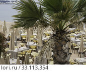 Купить «on the beach of cannes», фото № 33113354, снято 26 февраля 2020 г. (c) PantherMedia / Фотобанк Лори