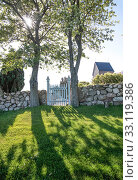 Купить «cemetery of the church ruts kirke on bornholm», фото № 33119386, снято 3 августа 2020 г. (c) PantherMedia / Фотобанк Лори