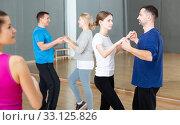 Купить «Adults learning to dance kizomba», фото № 33125826, снято 4 апреля 2020 г. (c) Яков Филимонов / Фотобанк Лори