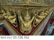 Купить «Der Wat Phra Kaew in der Stadt Bangkok in Thailand in Suedostasien.», фото № 33128162, снято 28 мая 2020 г. (c) PantherMedia / Фотобанк Лори