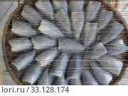 Купить «Frischer Fisch auf einem Markt in der Stadt Bangkok in Thailand in Suedostasien.», фото № 33128174, снято 10 июля 2020 г. (c) PantherMedia / Фотобанк Лори