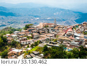 Купить «Zaruma - Town in the Andes, Ecuador», фото № 33130462, снято 8 апреля 2020 г. (c) PantherMedia / Фотобанк Лори