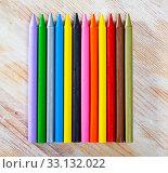 Купить «Colored wax pencils», фото № 33132022, снято 26 февраля 2020 г. (c) Яков Филимонов / Фотобанк Лори