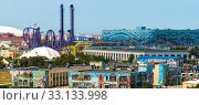 Sochi, Russia - June 5. 2018. Sochi Park, which entered TOP-25 of best parks in Europe in 2016. Редакционное фото, фотограф Володина Ольга / Фотобанк Лори