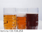 Купить «German beer», фото № 33134254, снято 1 июня 2020 г. (c) PantherMedia / Фотобанк Лори