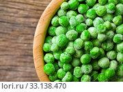 Купить «frozen peas», фото № 33138470, снято 6 июня 2020 г. (c) PantherMedia / Фотобанк Лори
