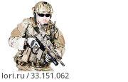 Купить «special warfare operator», фото № 33151062, снято 6 июня 2020 г. (c) PantherMedia / Фотобанк Лори
