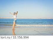 Купить «Enjoying the Summer», фото № 33156994, снято 14 июля 2020 г. (c) PantherMedia / Фотобанк Лори