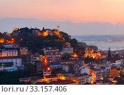 Lisbon castle, Portugal. Стоковое фото, фотограф Ivan Tykhyi / PantherMedia / Фотобанк Лори