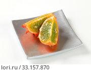 Horned melon. Стоковое фото, фотограф Alena Dvorakova / PantherMedia / Фотобанк Лори