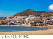 Seaside village in Andalusia at seaside, Cabo de Gata, Spain. Стоковое фото, фотограф Frank Fischbach / PantherMedia / Фотобанк Лори