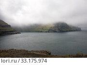 Купить «Rocky landscape on the Faroe Islands», фото № 33175974, снято 27 февраля 2020 г. (c) PantherMedia / Фотобанк Лори