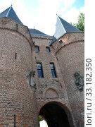 City Gate in Kampen. Стоковое фото, фотограф Jens Schade / PantherMedia / Фотобанк Лори