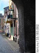 old town in kampen. Стоковое фото, фотограф Jens Schade / PantherMedia / Фотобанк Лори