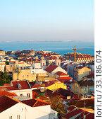 Купить «Lisbon architecture, Portugal», фото № 33186074, снято 21 февраля 2020 г. (c) PantherMedia / Фотобанк Лори