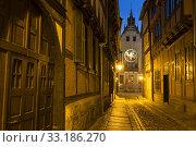 Купить «historic quedlinburg (sachsen-anhalt) at night», фото № 33186270, снято 25 февраля 2020 г. (c) PantherMedia / Фотобанк Лори