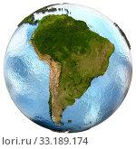 South America on Earth. Стоковое фото, фотограф Tomas Griger / PantherMedia / Фотобанк Лори