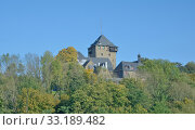 castle in the bergisches land in solingen,nrw,germany. Стоковое фото, фотограф Peter Eckert / PantherMedia / Фотобанк Лори