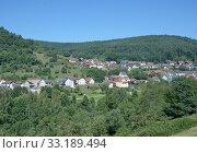 holiday resort heimbuchenthal im spessart,bavaria,germany. Стоковое фото, фотограф Peter Eckert / PantherMedia / Фотобанк Лори